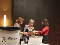 Volunteer Award - Susan Malone - HSCV