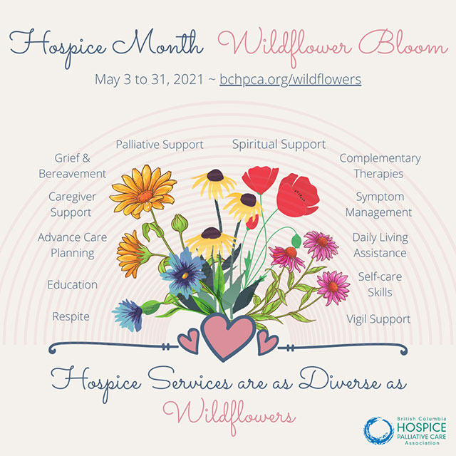Hospice Month Wildflower Bloom Campaign 2021