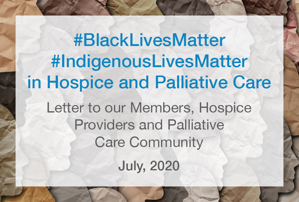 BCHPCA Black and Indigenous Lives Matter